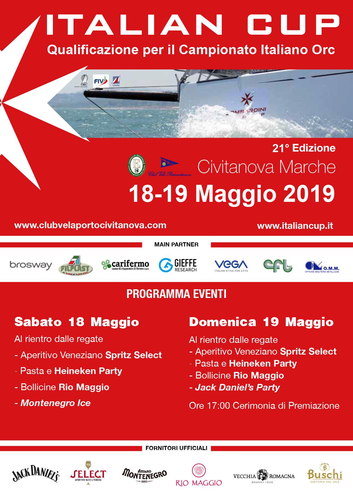ITALIAN CUP - 18 / 19 maggio 2019