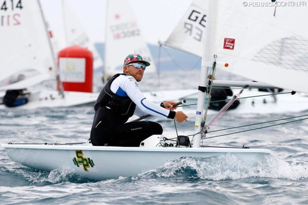 Stefano Angeloni in azione a Hyeres