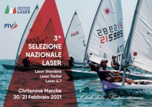 SELEZIONE NAZIONALE LASER – 20 / 21 FEBBRAIO 2021